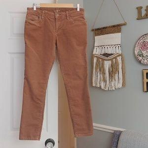 LOFT Pants - ¤ LOFT corduroy pants 27 / 4 petite mauve